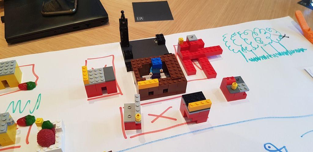 Scrum con LEGOs